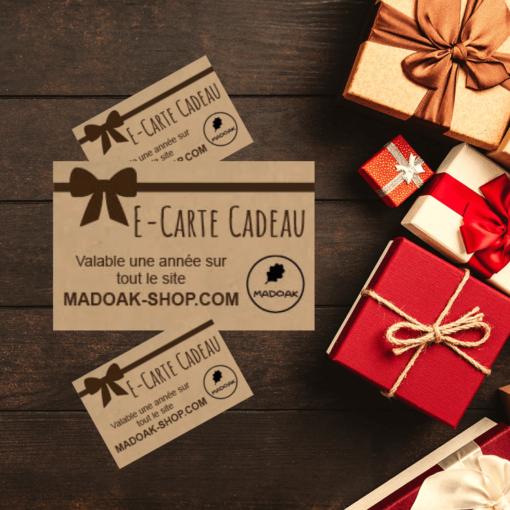 E-carte cadeau de Madoak